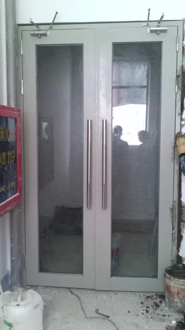 深圳鋼質乙級玻璃防火門