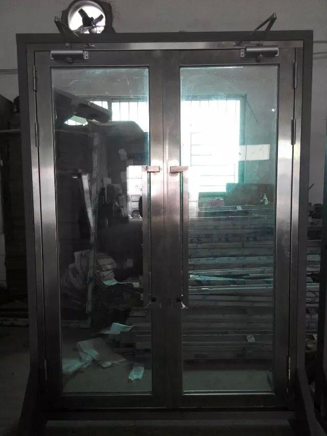 惠东不锈钢玻璃防火门
