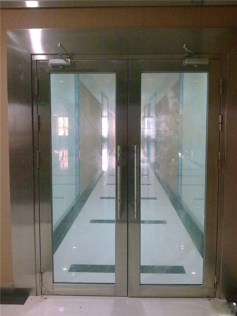 徐州不銹鋼玻璃防火門