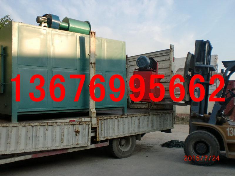 日产1-10吨秸秆机制木炭生产线