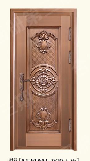 广东别墅铜门安装