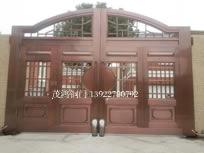 院墙铜门案例02