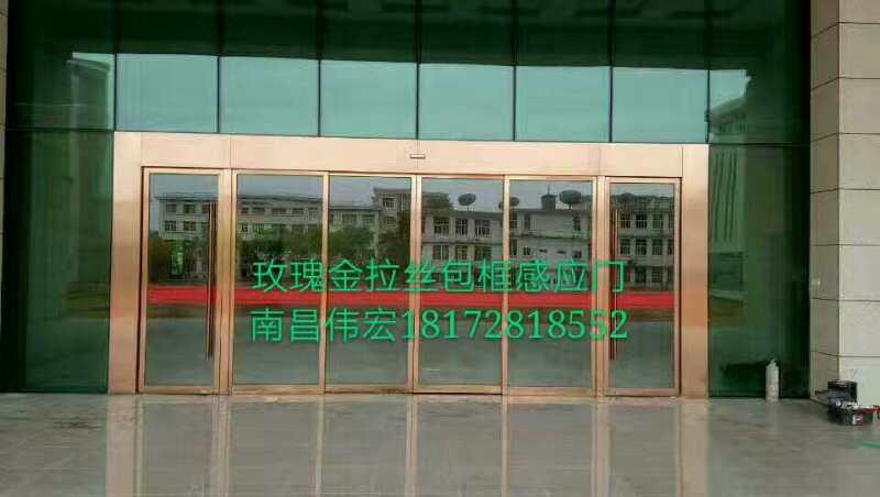 南昌陸軍學院信息大樓感應門