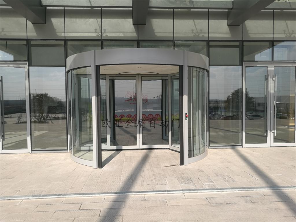 海尔智能家居产业园-两翼旋转门