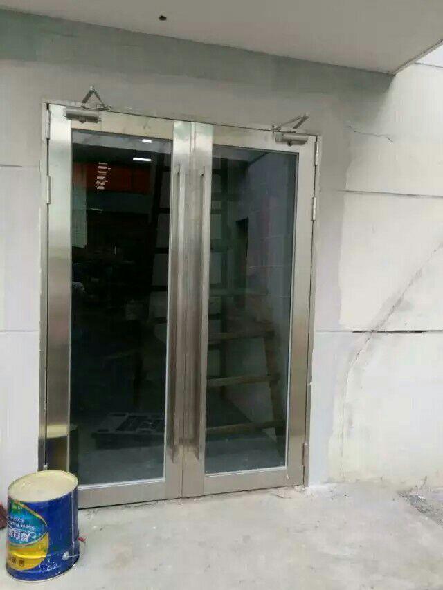 东莞不锈钢玻璃防火门