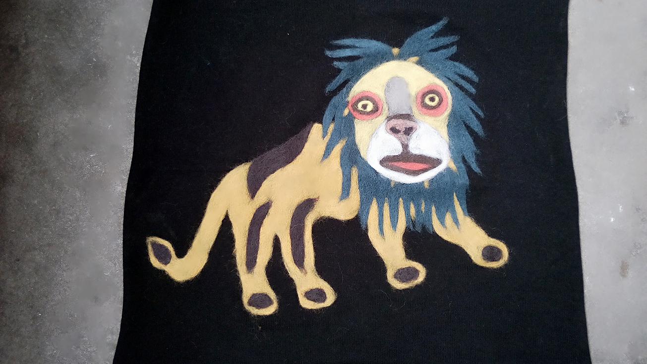 针动物狮子