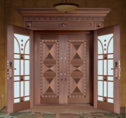 复合铜艺门系列4
