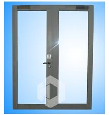 不锈钢玻璃防火门